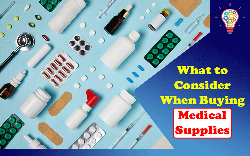 Buying Medical Supplies