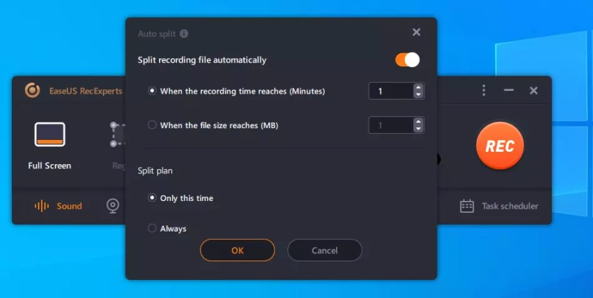 Windows screen recorder