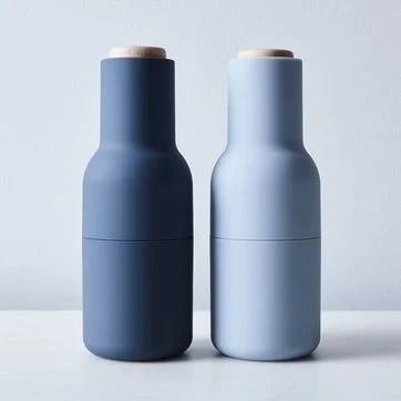 Minimalist Salt & Pepper Bottle Grinders