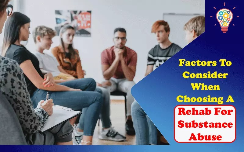 Rehab For Substance Abuse
