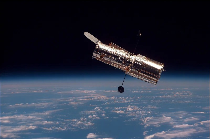 Launching of the Hubble Is a Big History