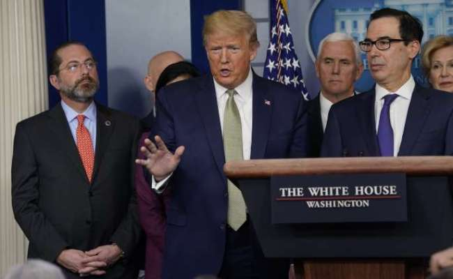 White House Trump Pitched 850 Billion Stimulus Package