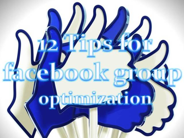 Tips to enhance your facebook group performance