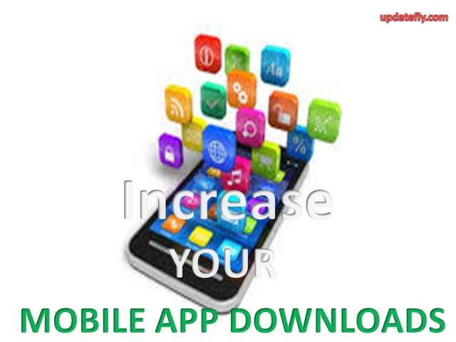 Increase mobile app Downloads
