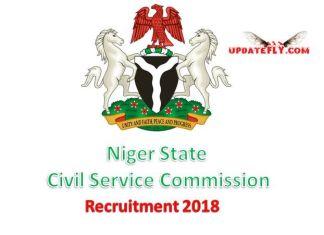 Niger State Civil Service Commission Recruitment 2018