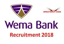 Wema Bank Recruitment 2018