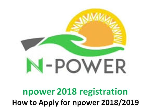 N-Power Site is Now Open For Graduate Employment Scheme 2018, Apply Urgently