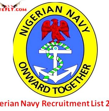 Nigerian Navy Recruitment List 2017