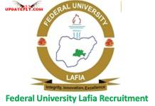 Federal University Lafia Recruitment 2018
