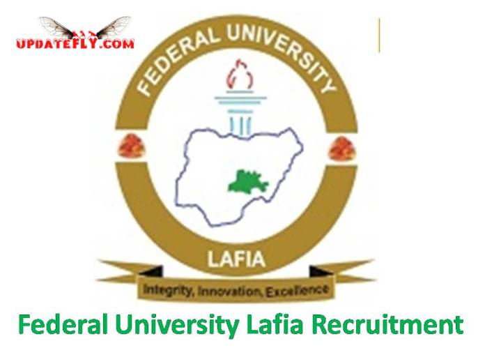 Federal University Lafia Recruitment 2018