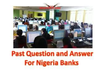 Prepare for Banking Job Exams in Nigeria
