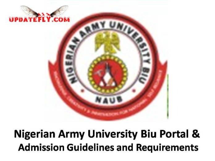 Nigerian Army University Biu Admission 2018/2019