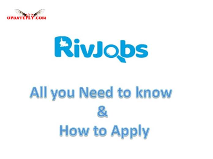 rivjob Requirements and How to Apply