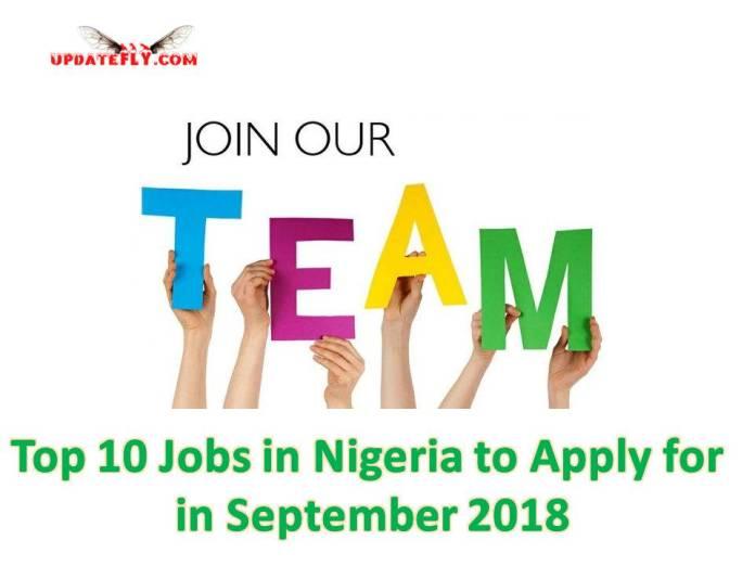 Recent Job vacancies in Nigeria
