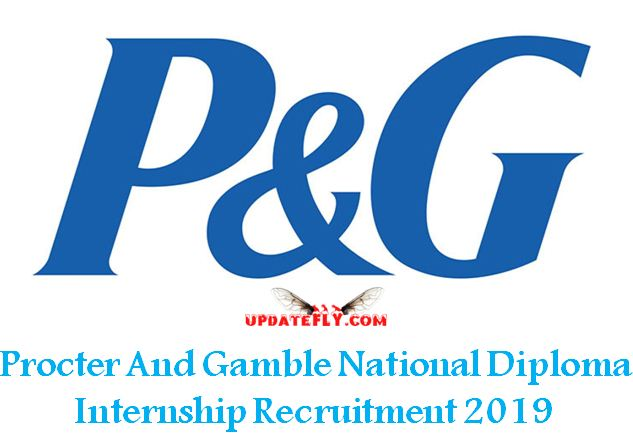 P&G Plant Technician Internship Recruitment 2019