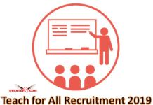 Teach for All Recruitment 2019