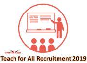 Teach for All Recruitment 2019