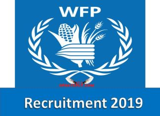 WFP Supply Chain and Logistics Officer Recruitment 2019