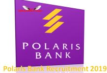 Polaris Bank Recruitment 2019