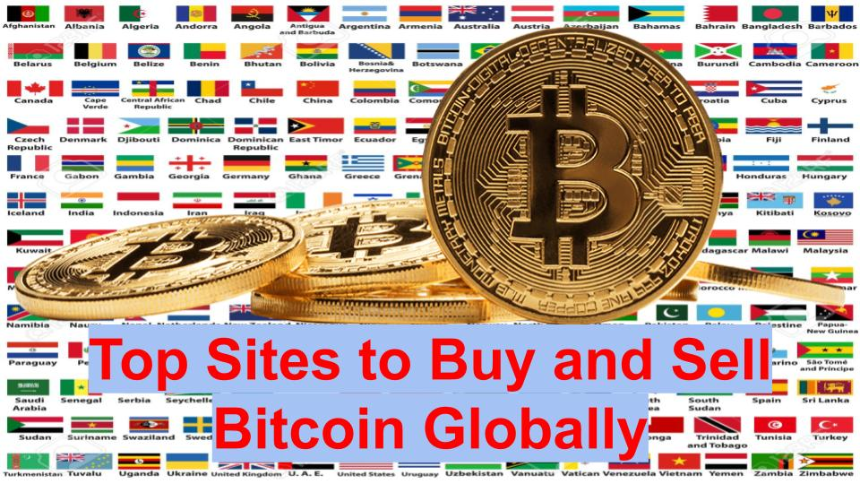 Top Sites to Buy and Sell Bitcoin and other Cryptocurrencies in Africa and Globally - Updatefly
