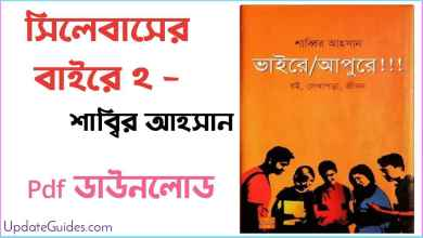 Photo of syllabuser bhaire apure 2 pdf Download