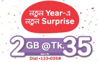 Airtel 2GB 35Tk