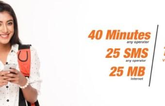 Banglalink 24Tk Bundle Offer 40 Minute, 25SMS & 25MB Internet