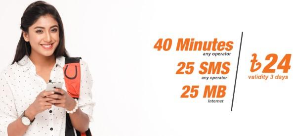 Banglalink 24Tk Bundle Offer