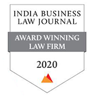 India Business Law Journal's 2020 Law Firm Award
