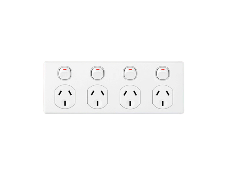 electrical quad outlets