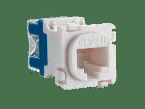 Clipsal  30RJ45SMA5  Modular Socket, Category 5E, RJ45