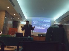 Professor Giacomo Muzi and Lecture 'Hypersensitivity Pneumonitis'