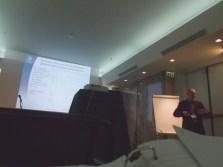 Professor Lars Barregård and lectures 'Air pollution, asthma and COPD' and 'Air pollution and cardiovascular disease'