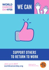 WE CAN SUPPORT OTHERS TO RETURN TO WORK