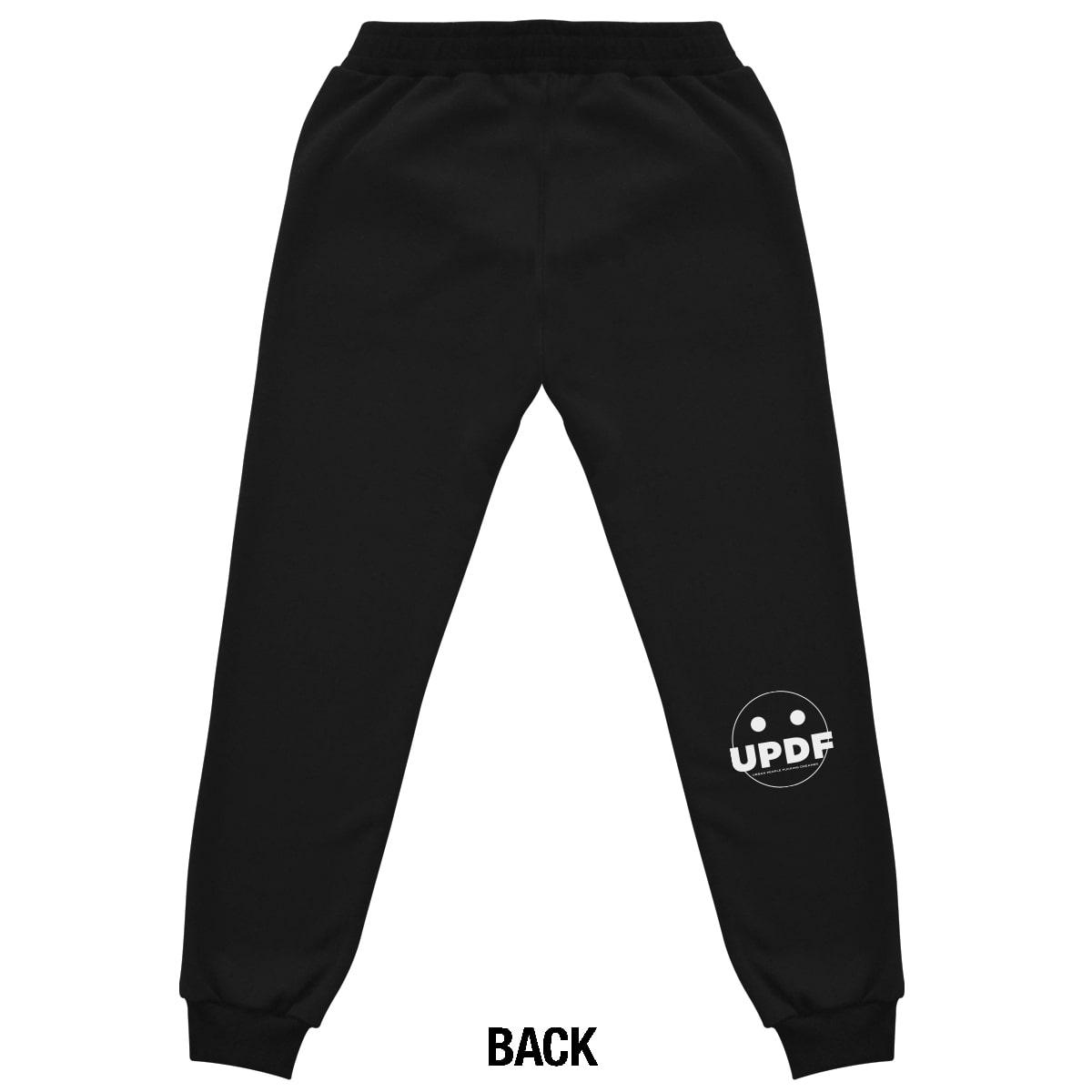 Black logo Pant Updf retro