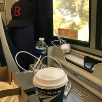 Amtrak USA train rides start out nervy, relax into it