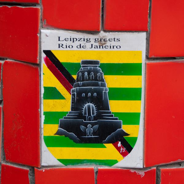 Leipzig grüßt Rio