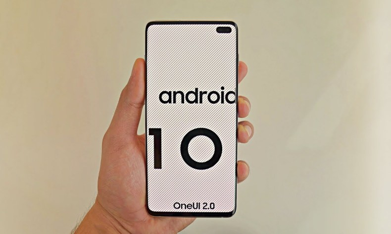Samsung Galaxy 10 running Android 10 with One UI 2.0 - Up ...
