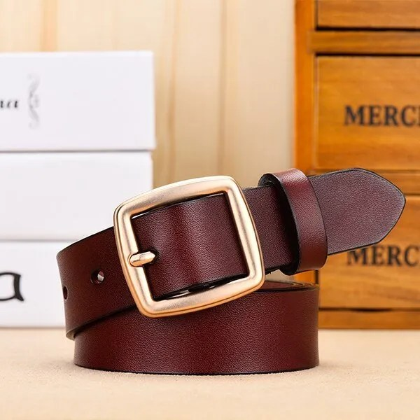 Fashion Women Belt Genuine Leather for Jeans 11