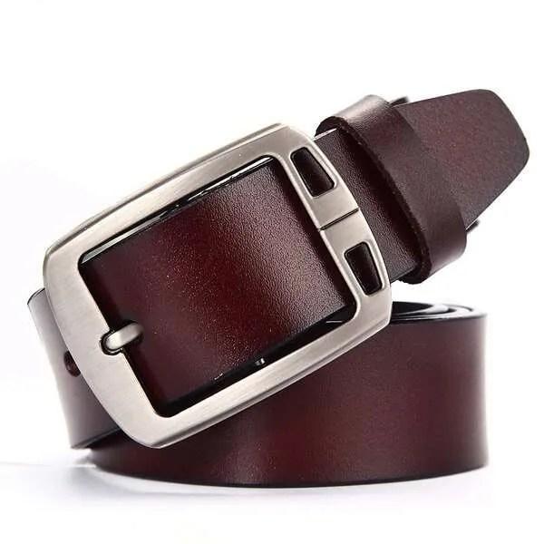 Genuine Cowskin Leather Belts for Men 11