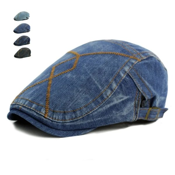Men Fashion Jeans Hat 1