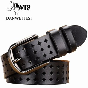 Women Genuine Leather Quality Alloy Fashion Belt for Women