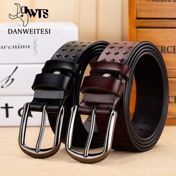 Women Genuine Leather Quality Alloy Fashion Belt for Women 2