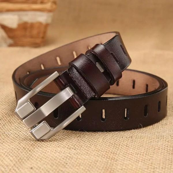 Women Designer Fashion Leather Belt 1