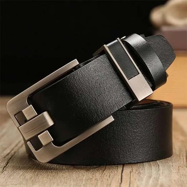 Men's Genuine Cowhide Leather Belt 10