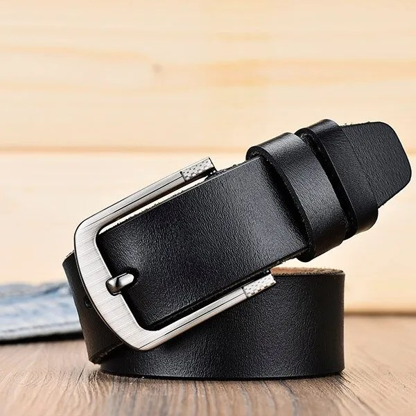 Men's Genuine Cowhide Leather Belt 15