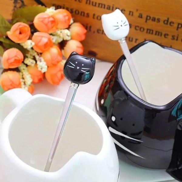 Ceramic Cute Cat Mug in 400 ml 1