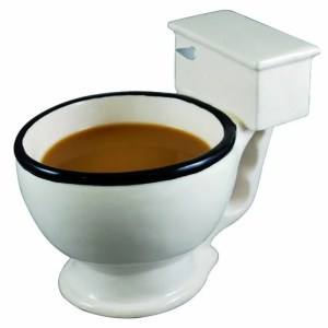 Novelty Toilet Ceramic Mug 300 ml