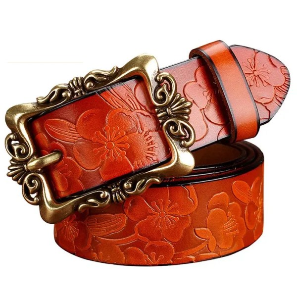 Fashion Women Leather Belt