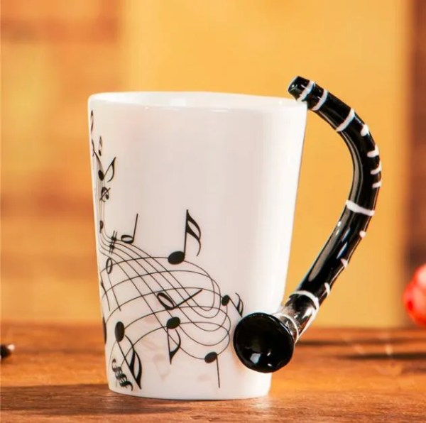 Musical Instruments Style Novelty Ceramic Mugs 18